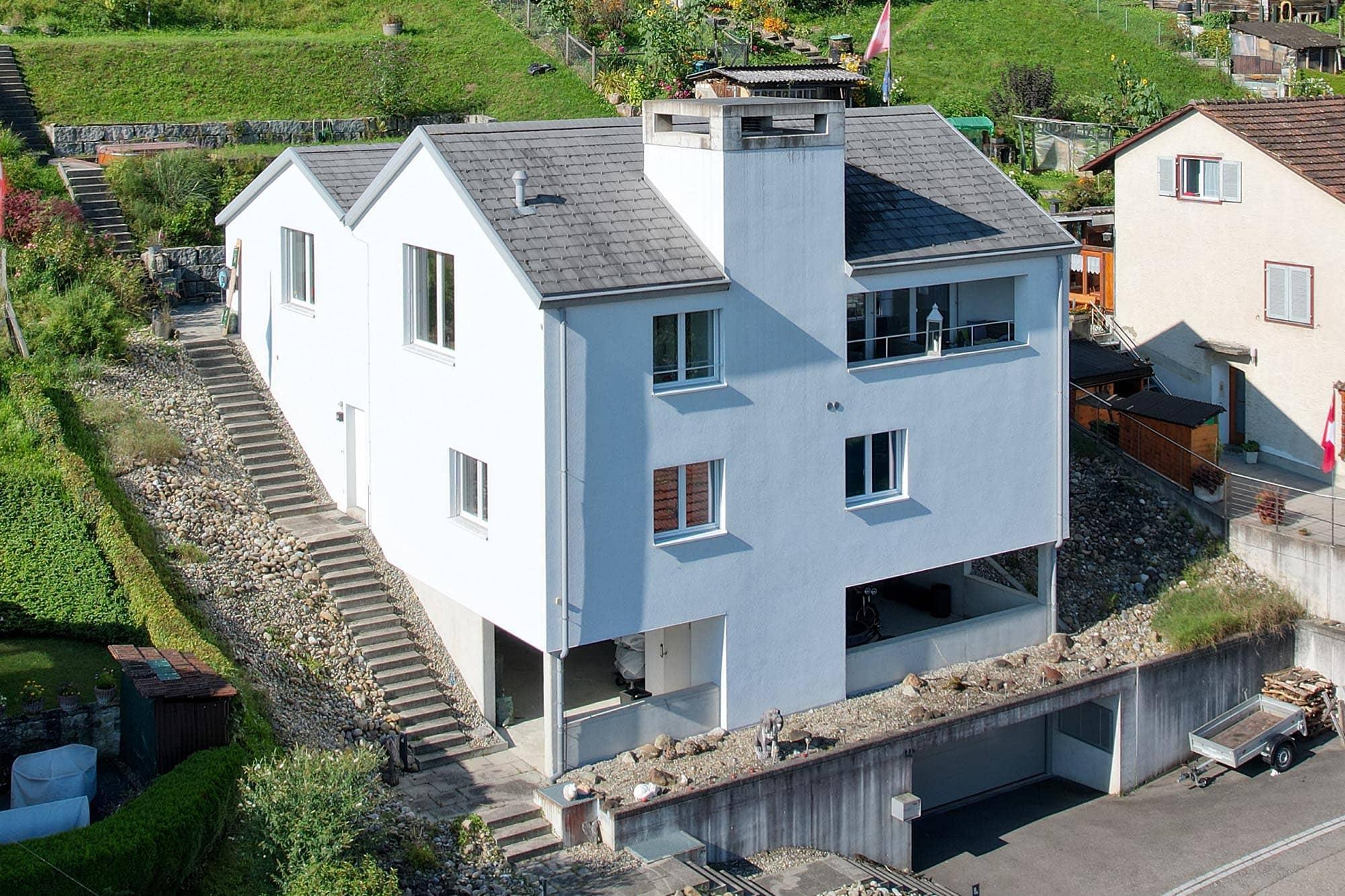 Modernes Einfamilienhaus zu verkaufen in Langwiesen, Kanton Zürich